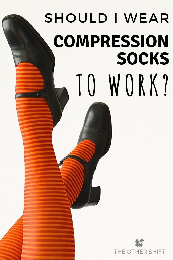should i wear compression stockings after knee replacement surgery day and night