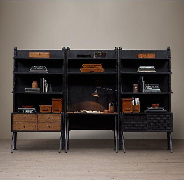 RHs 1950s Modular 2Shelf Desk SystemOrganize space the