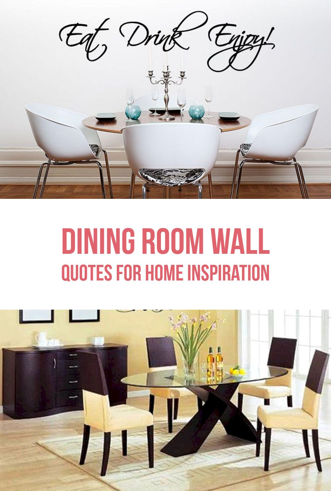 25 Awesome Dining Room Wall Quotes For Home Inspiration Dining