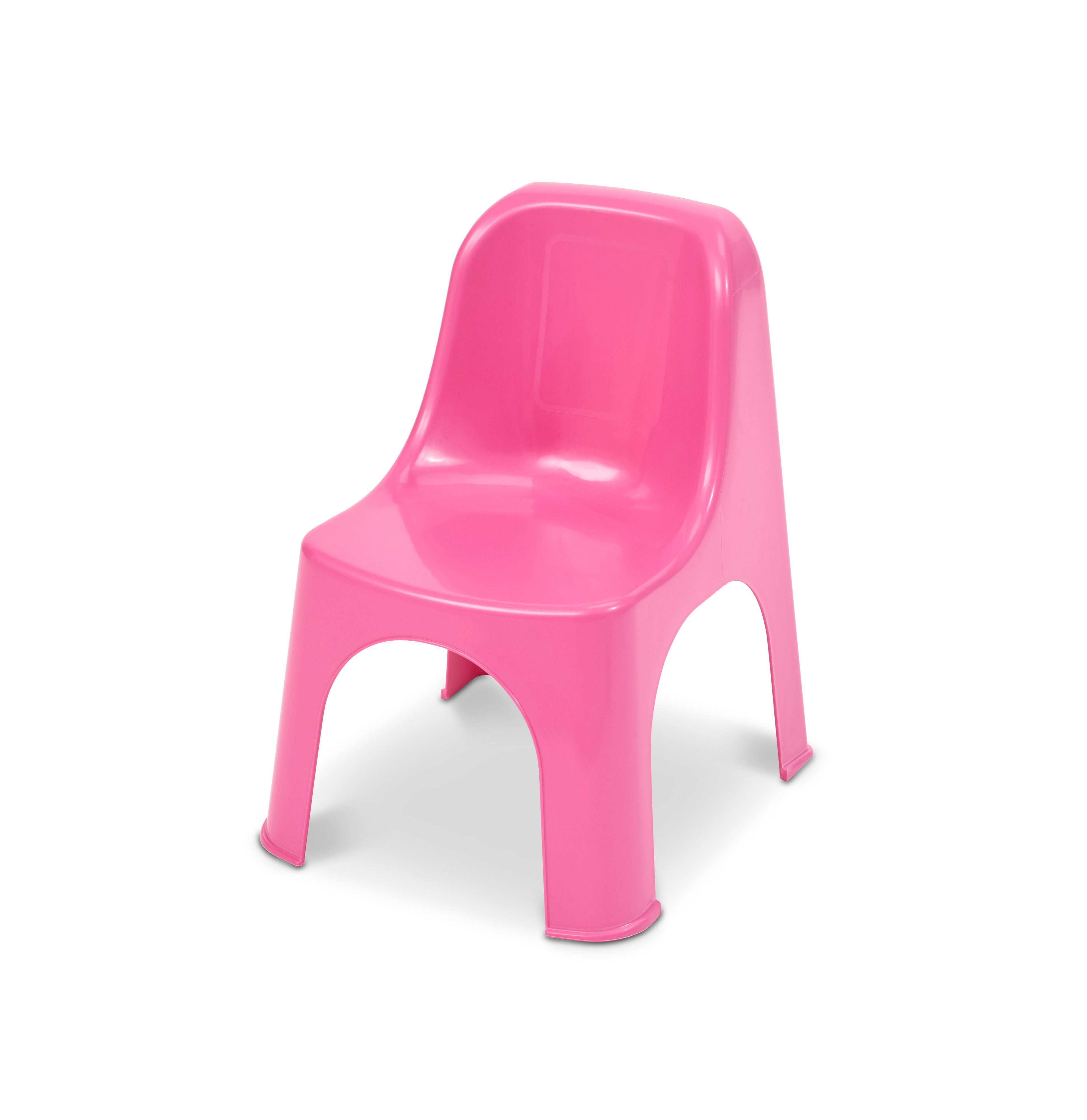 Plastic Kids Chairs Noli Pink Plastic Kids Chair Departments Diy At B Q Garden