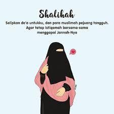 Kartun Muslimah Cantik Syar Puisina Pinterest 300 Gambar Bercadar Keren
