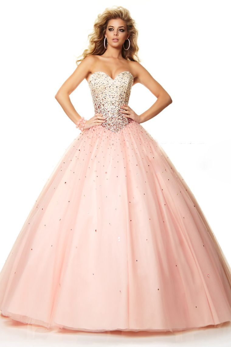 2015 Bicolor Quinceanera Dresses Sweetheart Ball Gown Floor-Length ...