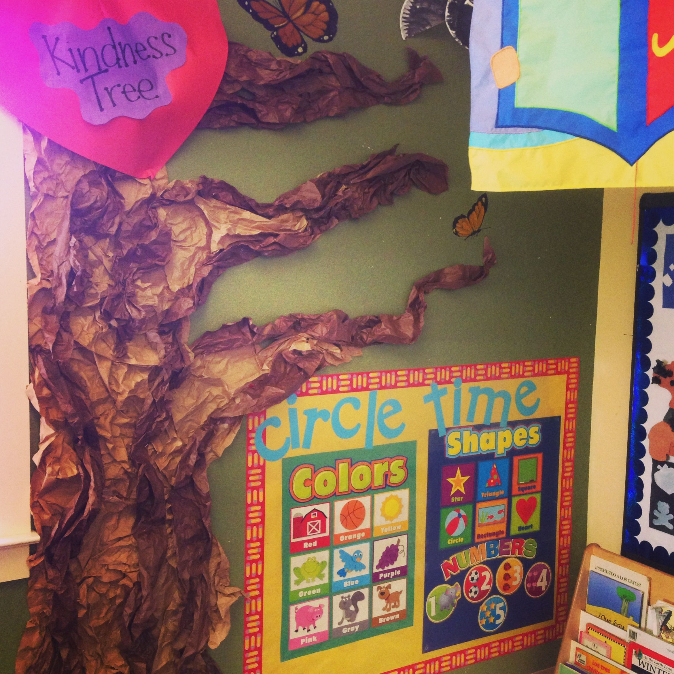 Kindness Tree When Ever A Child From Class Does An Act Of