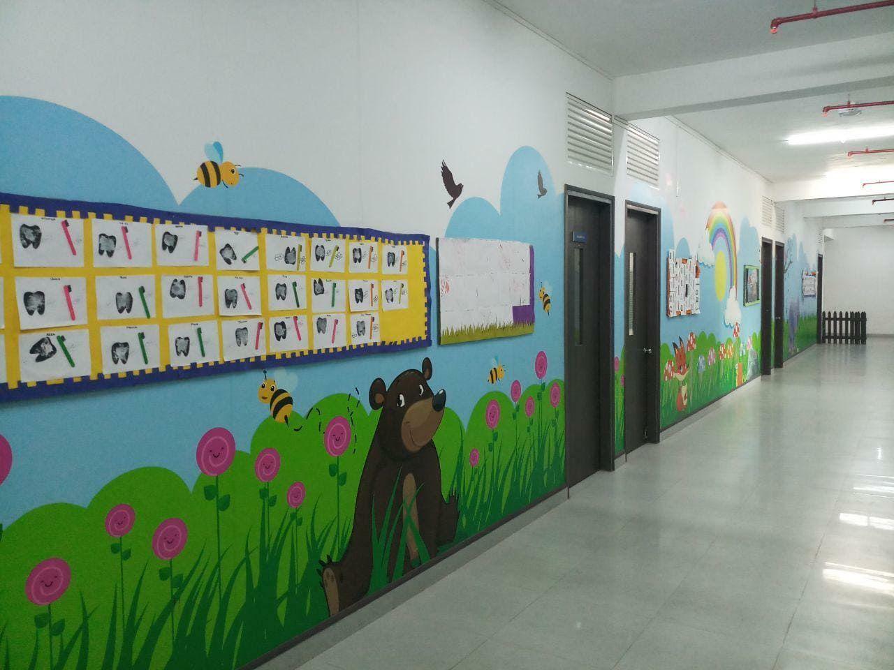 School Graphics Internal Branding School Wall Graphics Graphic