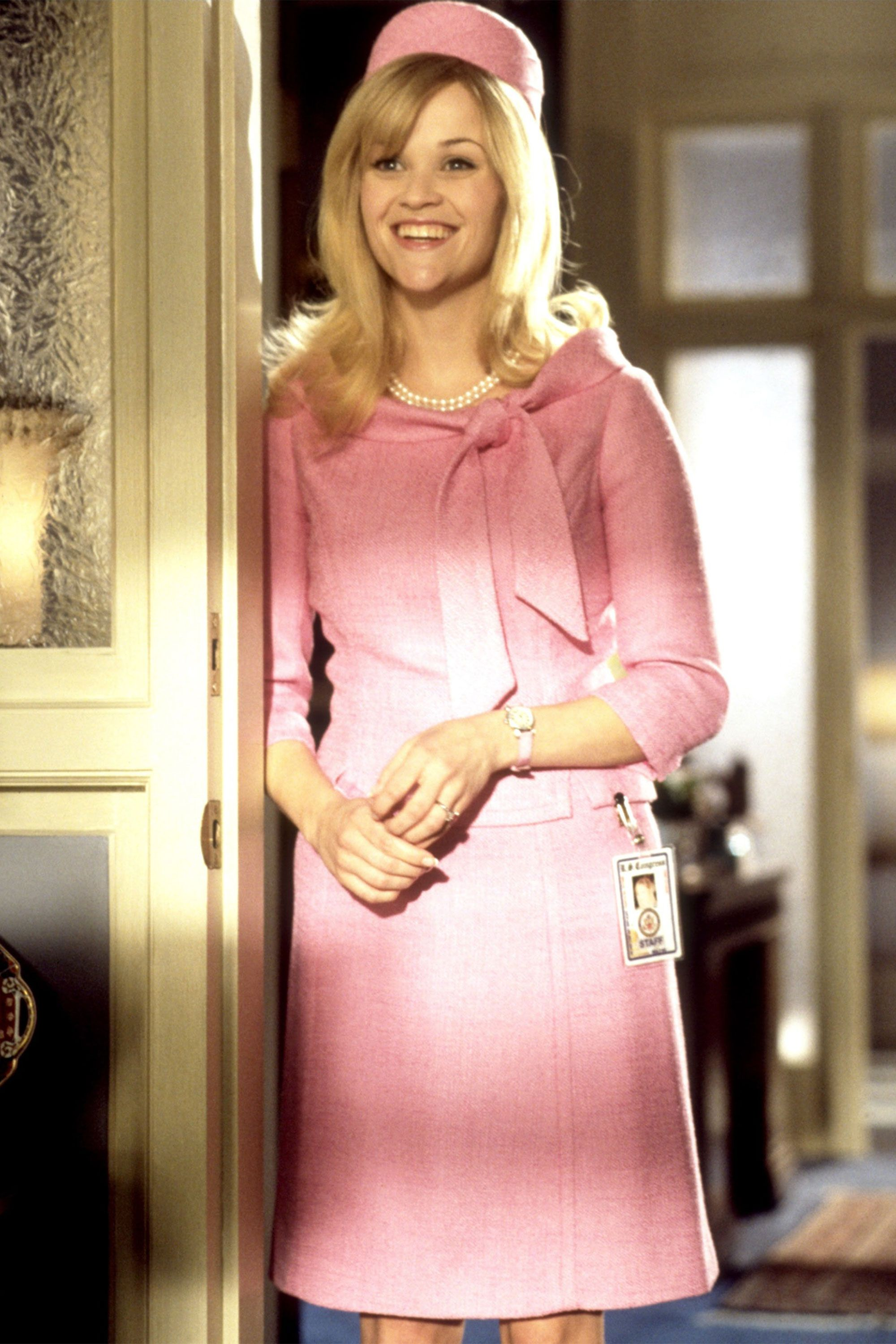 23 Halloween Costume Ideas Inspired By Tv Movie Characters Legally Blonde Outfits Legally Blonde Blonde Halloween Costumes