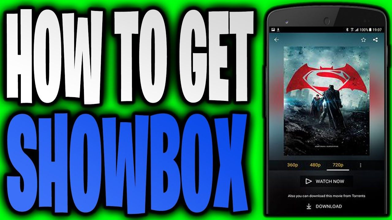 Show Box Download How To Get ShowBox [iOS Android