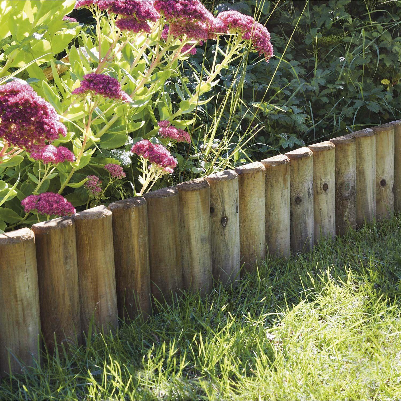 Bordure A Planter Bordure Jardin Deco Jardin Et Bois Naturel