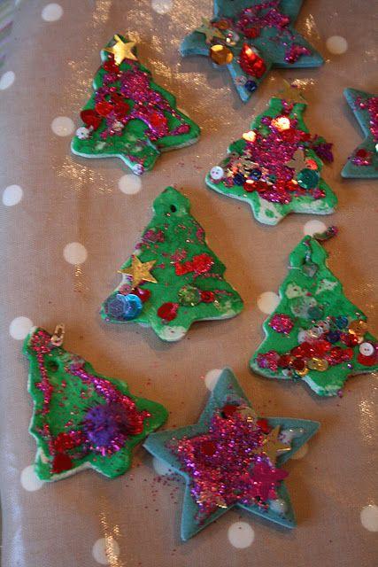 Salt Dough Decorations Part 2 Salt dough, Ornament and Salt dough