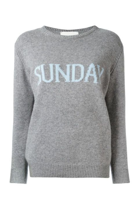 83efd90054 Treat any day like a Sunday in this comfortable jumper. Grey jumper