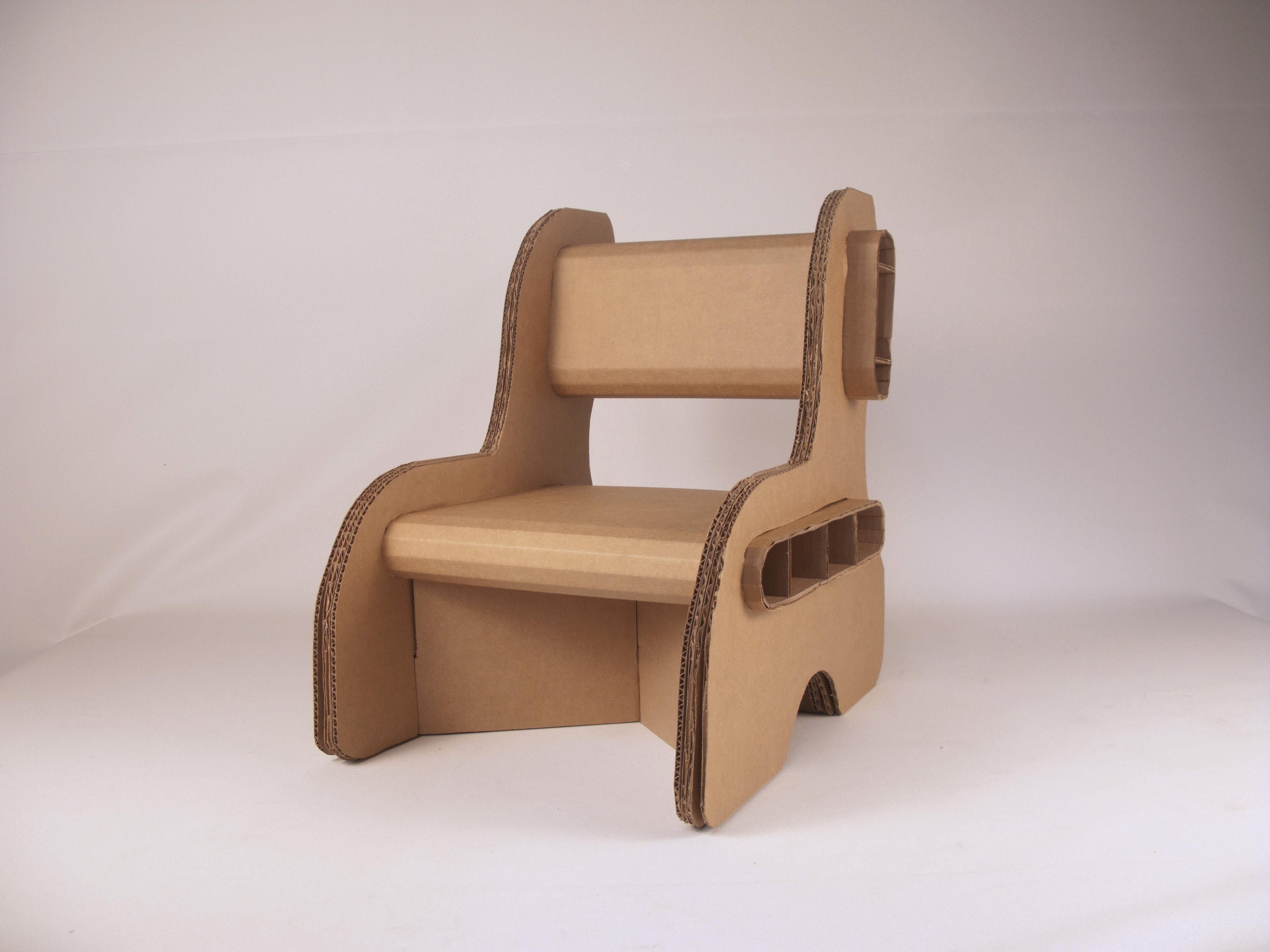 cardboard chair template - Google Search | Cool Designs ...