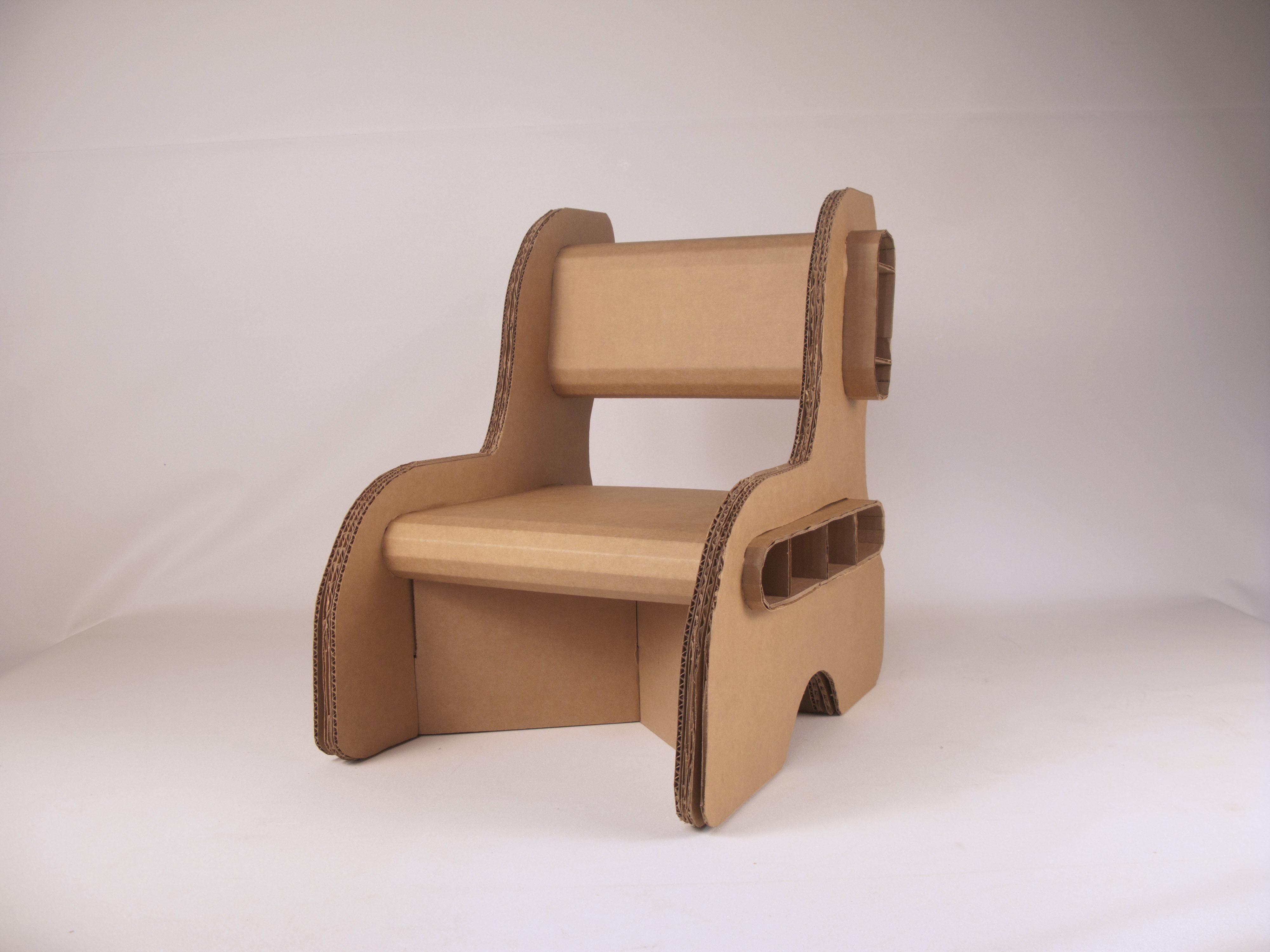 cardboard chair template - Google Search | Cool Designs ...