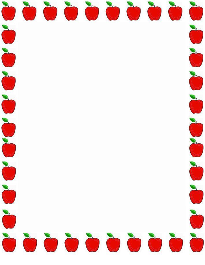 Backtoschool Border Paper, Back To School Motivational Border Papers,  Backtoschool Border Paper Design, Backtoschool Wall Border Papers, Free  Back To School ...  Printable Bordered Paper Designs Free