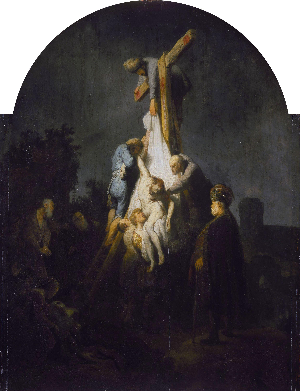 Rembrandt Harmensz Van Rijn Descendimiento