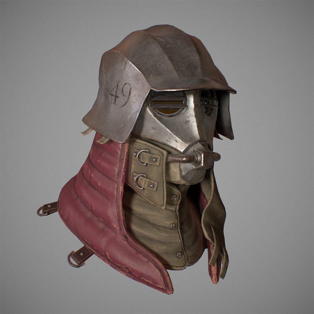Helmet 49, Glenn Donaldson on ArtStation at https://www.artstation.com/artwork/bzVog