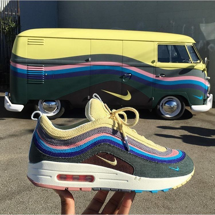 3b62dc4fa201d Its a match! The hype around the Nike x  sean wotherspoon Air Max 97 1  slowly builds up! Heres a matching car - for the real fans by  sk8thegr8   sneakersmag ...