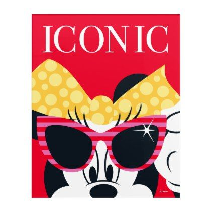 Minnie Mouse | Hollywood - Iconic Mouse Acrylic Wall Art | Acrylic ...