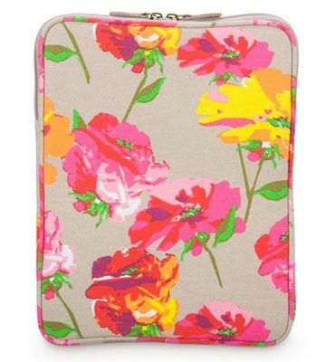 Poppy Color Burst iPad Sleeves