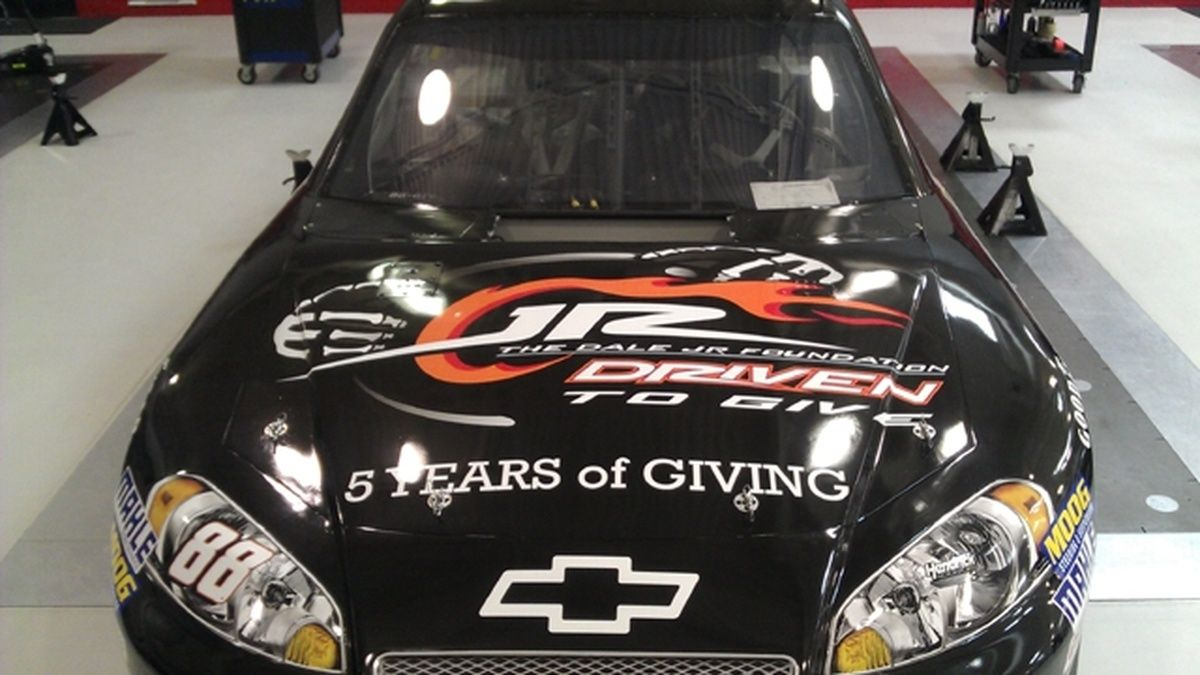 Dale Earnhardt Jr.'s No. 88 Chevrolet to feature The Dale Jr. Foundation for Sprint All-Star weekend