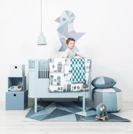 Inrichting Babykamer Jongen.Mooi Babyledikantje Jongen Lichtblauw Babybedje Inspiratie Voor
