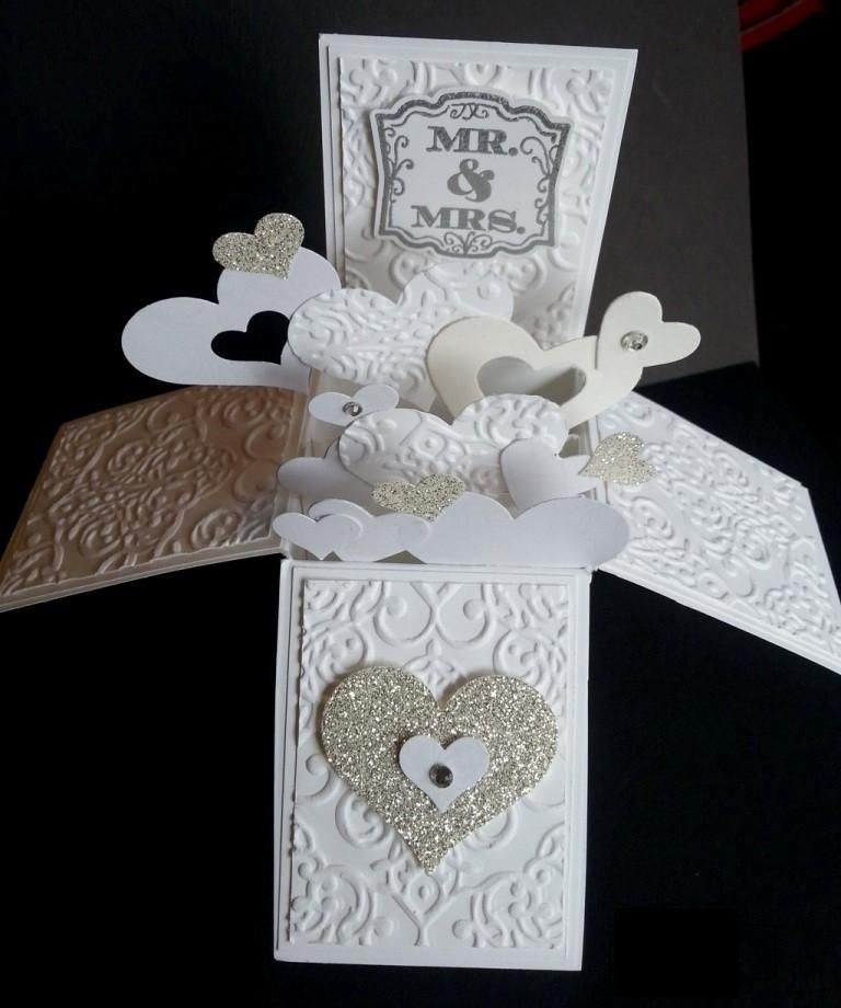 box wedding invitations online%0A    Most Breathtaking  D Handmade Box Cards