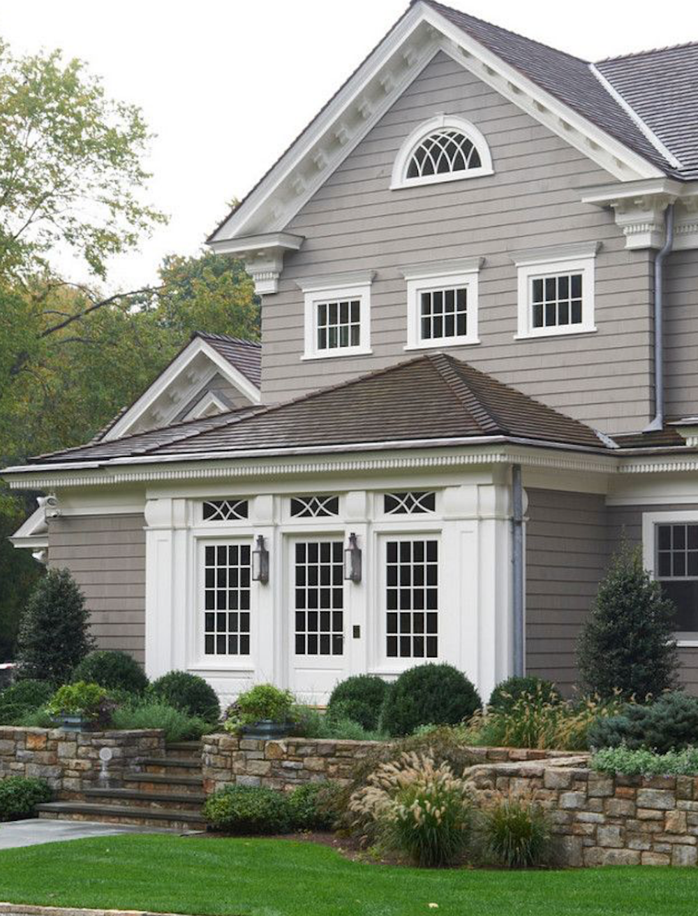 4 Beautiful Earth Tone Paint Colors For Your Home In 2019 Brick Batten Blog House Paint Exterior Exterior Paint Colors For House Exterior Gray Paint
