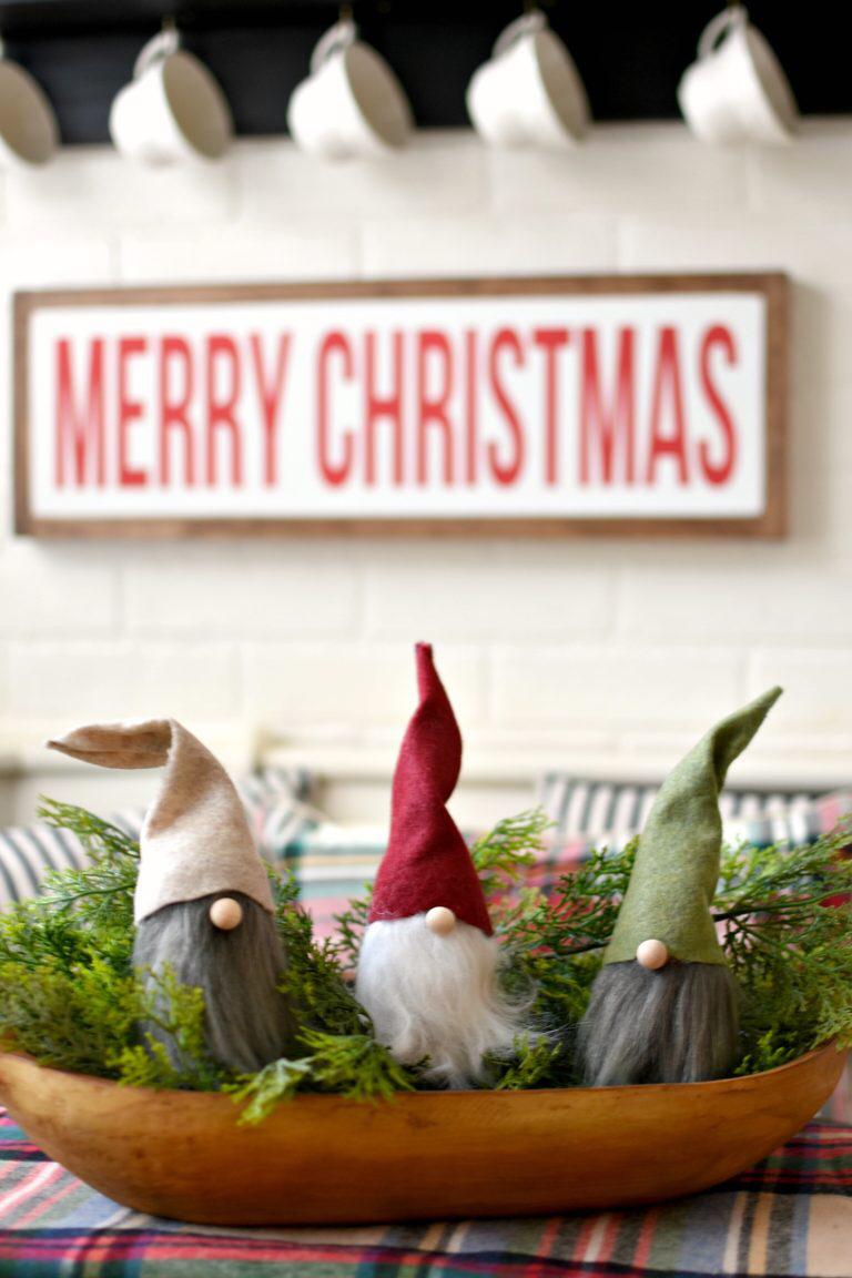 Easy As Magic Diy Nordic Christmas Gnomes Scandinavian Gnomes Christmas Gnome Nordic Christmas Christmas Decor Diy