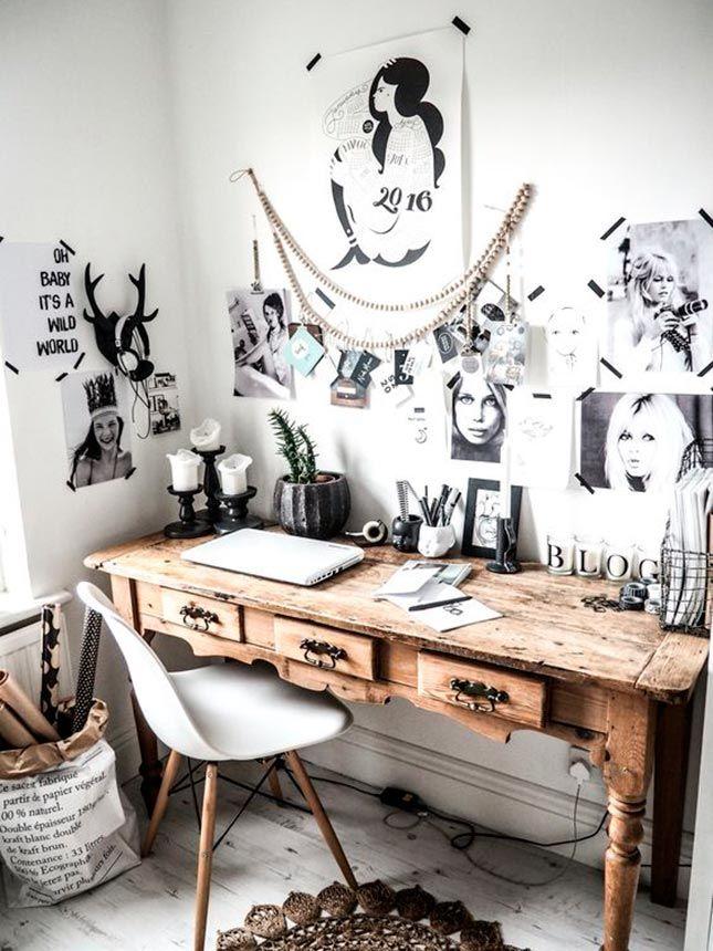 Cool working 7 cosas para decoraci n despacho en casa ideas deco decoraci n de unas - Ideas decoracion despacho ...