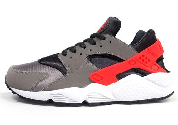 400e803fd870 Nike Air Huarache - Sport Grey - Total Crimson - SneakerNews.com ...