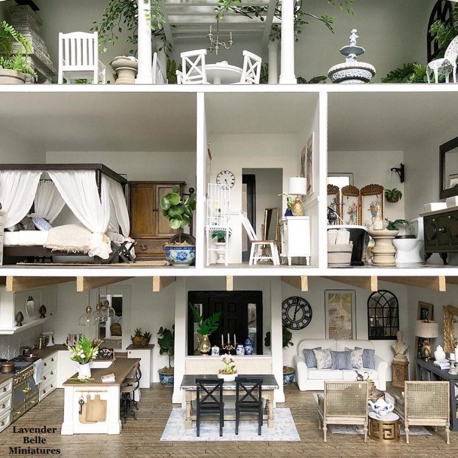 She's Building a Pinterest-Perfect Miniature Village #miniaturefurniture