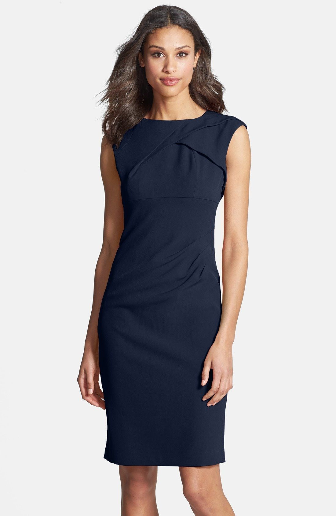 Adrianna Papell Pleated Crepe Dress | Nordstrom | Maxi ...