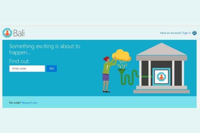 Microsoft Project Bali in 2019 Microsoft project