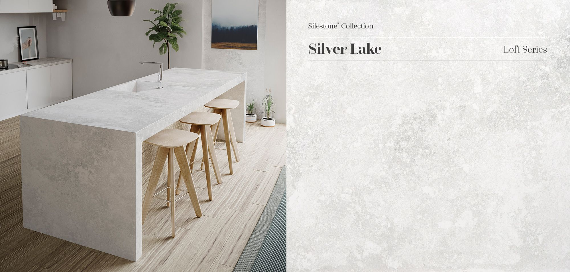 We Are Glad To Present The New Silestone Silver Lake A Unique Original And Daring Kitchen Inspiration Modern Kitchen Countertops Kitchen Remodel Countertops