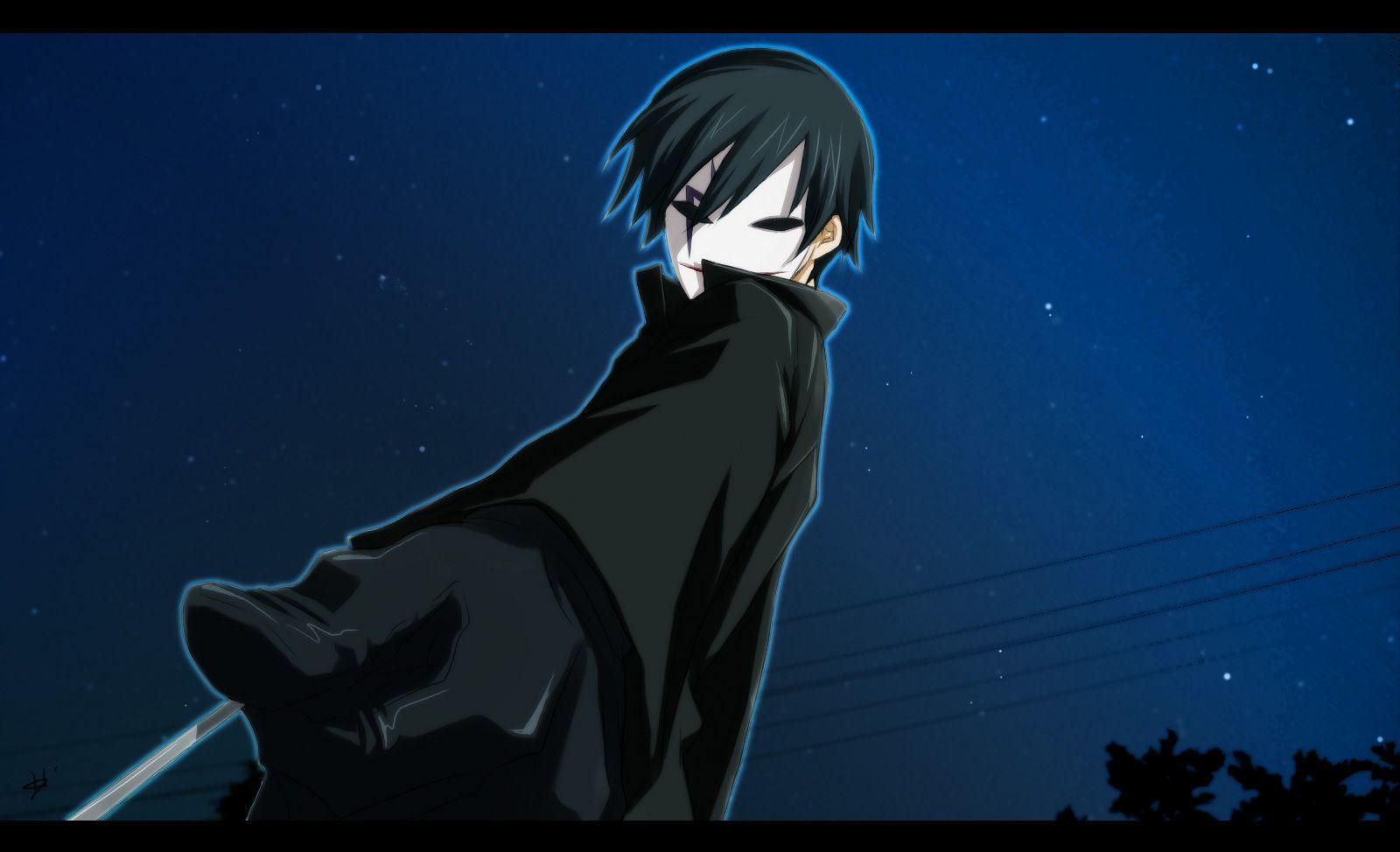 Darker than black1156893 black wallpaper anime anime
