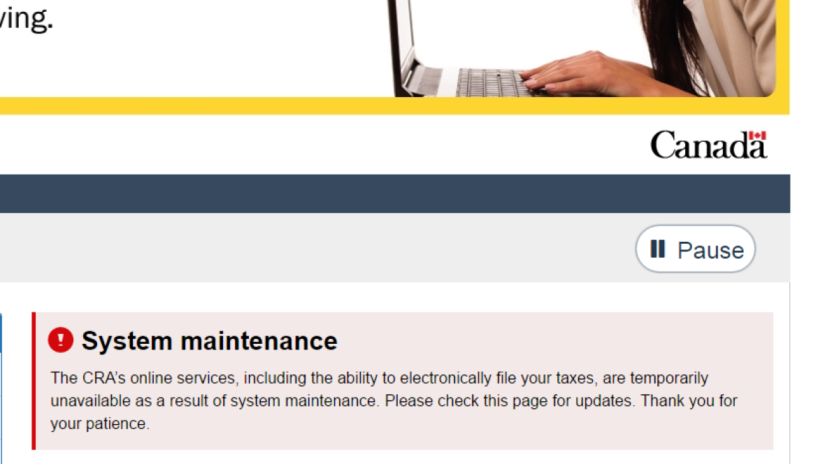 Canada Revenue Agency shuts down online services after