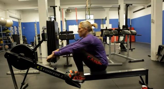 Rowing is a great CrossFit workout that works every large muscle group in the body. There are 4 main movements in the CrossFit rowing stroke. The Catch The Drive The Finish The Recovery Here is a video that goes over the CrossFit rowing technique: In the video below, Krista Guloien(Olympic sliver medalist), goes over some...
