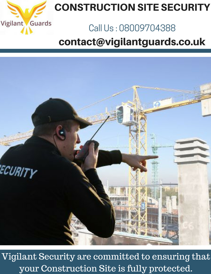 We employ only experienced and qualified security guards First we – Construction Site Security Plan