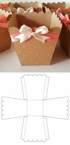 Open Treat Box Open Treat Box Diy Gift Box Gift Box Template Valentines Diy