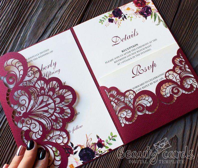 25+ Trifold wedding invitations etsy information