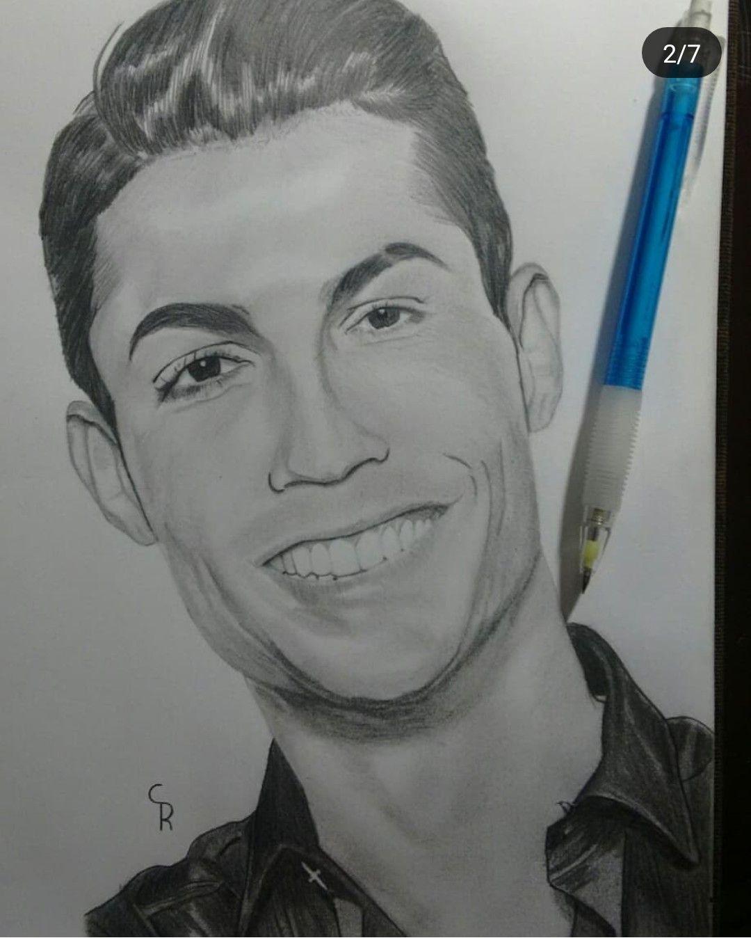 Cristiano Ronaldo Cristiano Ronaldo Ronaldo Male Sketch