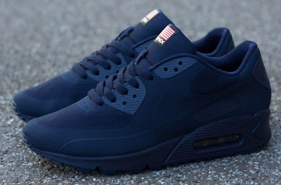 """official photos f11f0 114fb Releasing  Nike Air Max 90 Hyperfuse QS """"Independece Day Pack ..."""