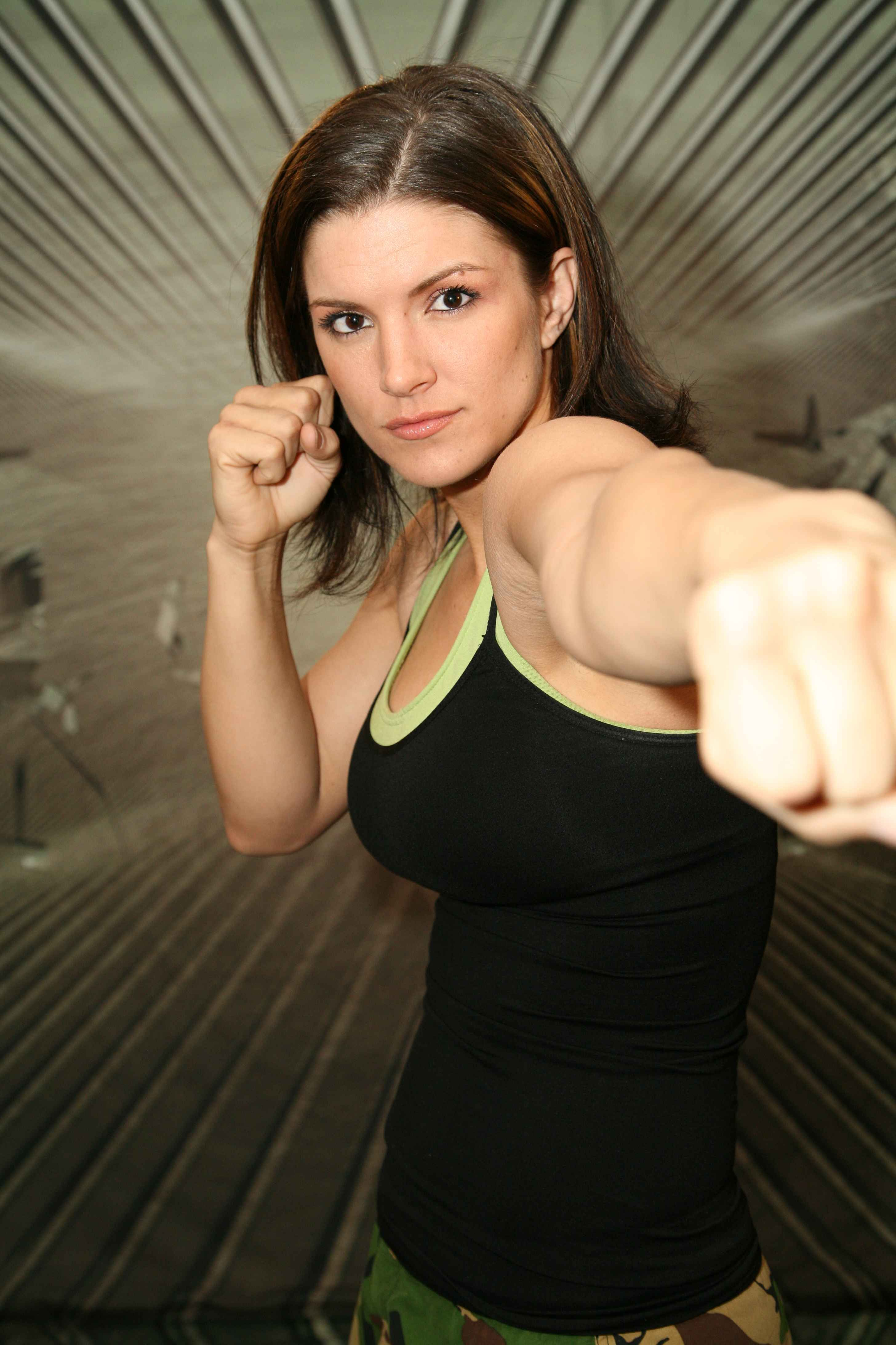 Polished beauty Gina Carano Muay Thai, Female Mma Fighters, Ufc Fighters,  Crossfit,