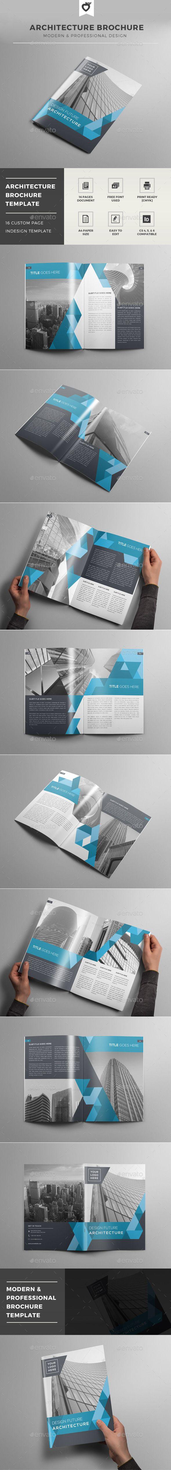 Architecture Brochure Template Design Download Httpgraphicriver
