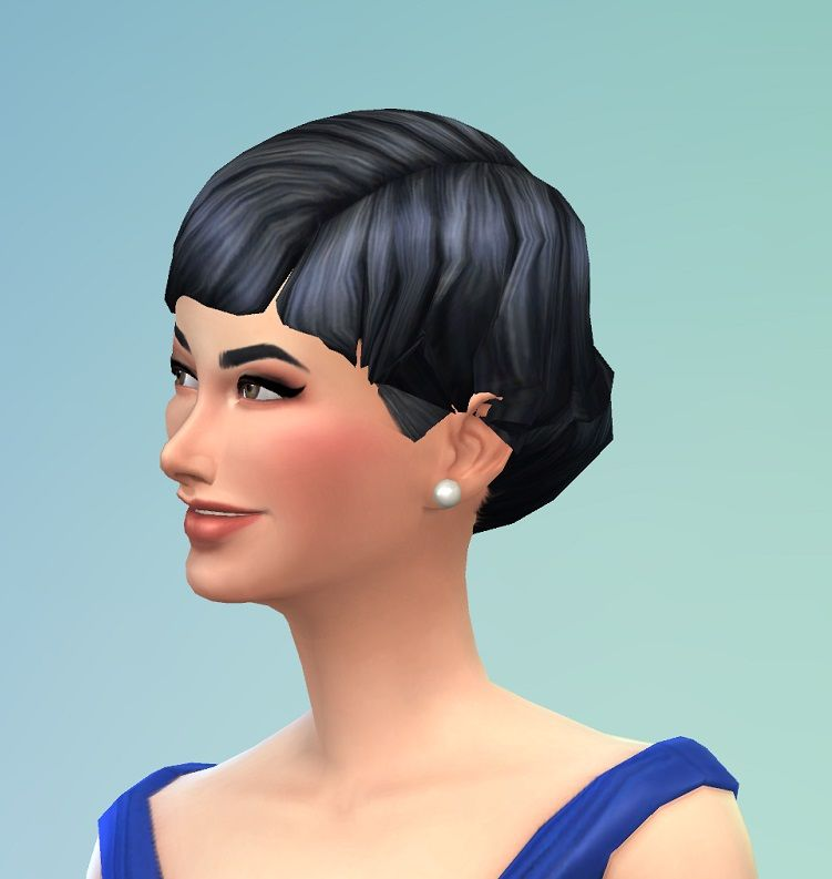 Mod The Sims Hairstyles For Our Celebritys Virtual Reality Games Sims Sims 4