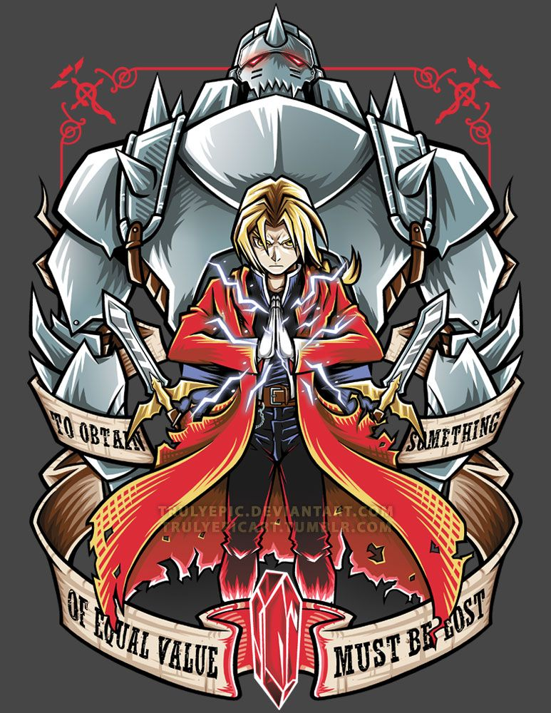 FullMetal Alchemist: Brotherhood by TrulyEpic on DeviantArt