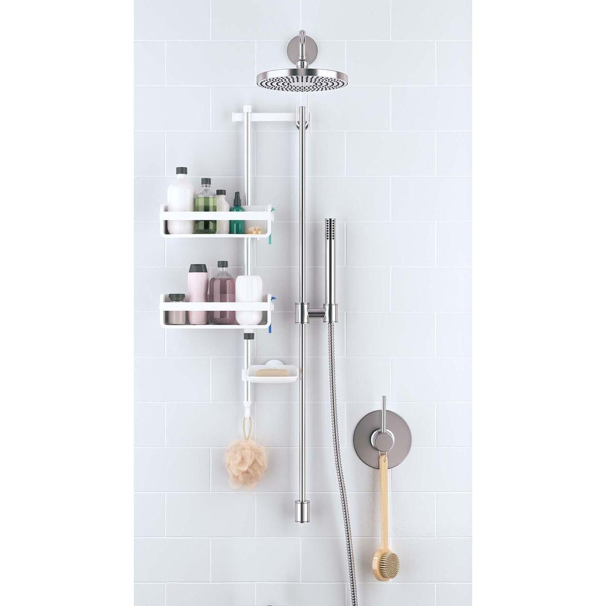 Colonne support accessoires de salle de bain  Accessoires salle