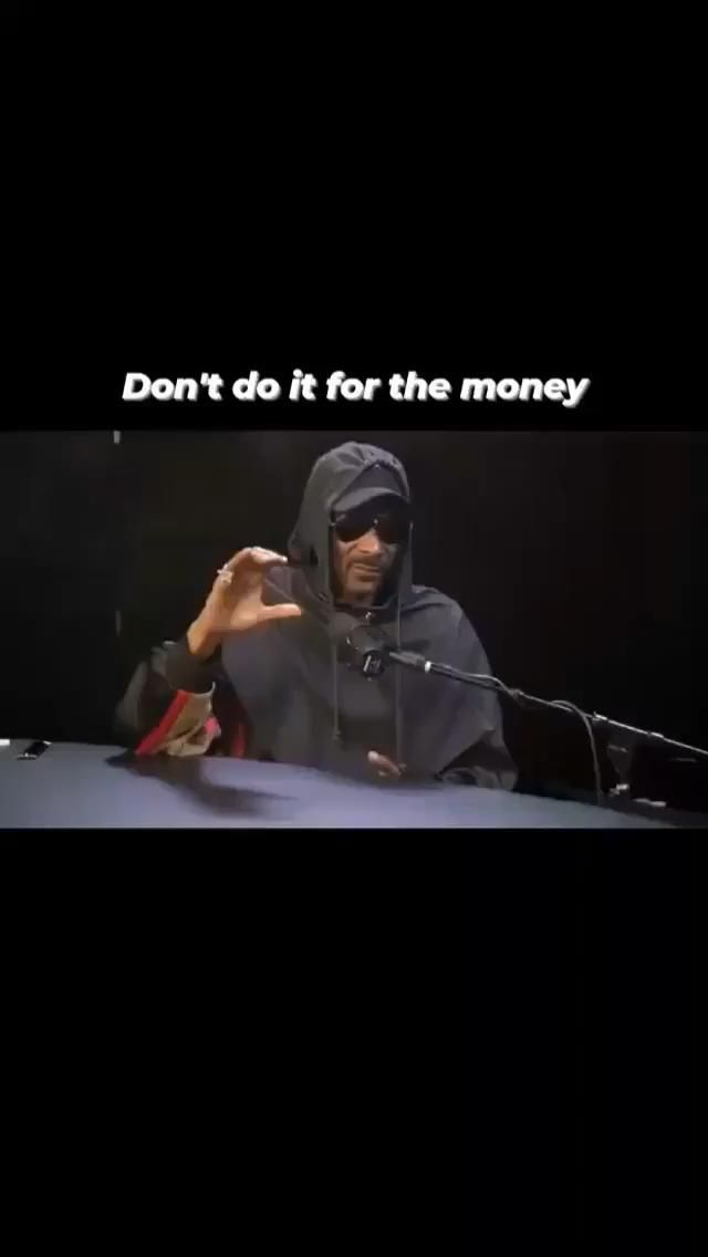 DON'T DO IT FOR THE MONEY! GLORY INVESTING SHOW