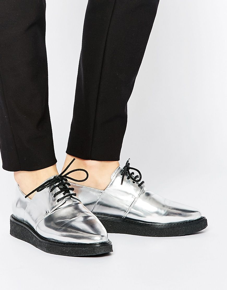 Buy Women Shoes / Asos Memorise Pointed Creepers