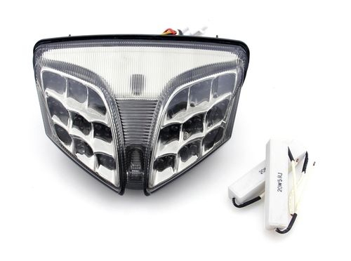 Integrated Led Taillight Turn Signals For Suzuki Gsxr 600