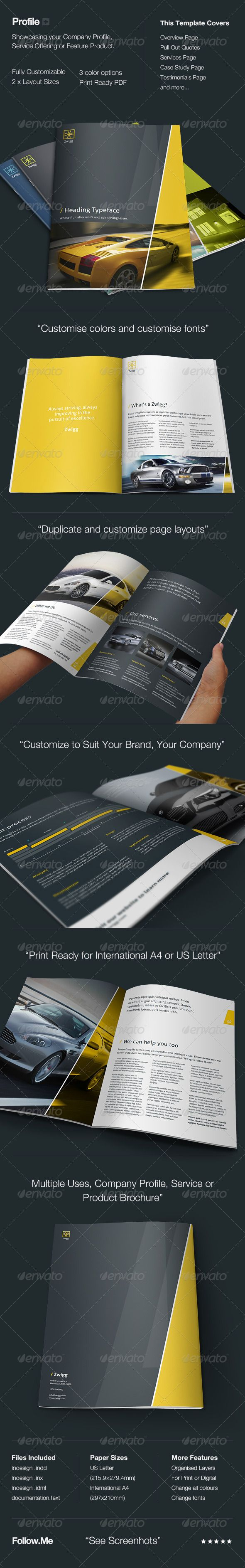 pany Profile GraphicRiver Profile is a Sharp and Professional
