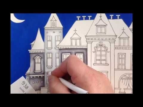 Romantic Country First Book Color Tutorial Part 1 Youtube Romantic Country Romantic Coloring Books